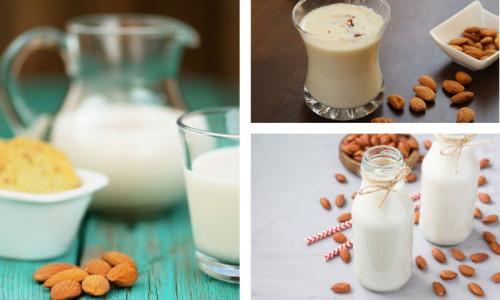 картинка - Миндальное молоко